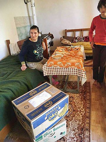 Hilfspakete für arme Familien