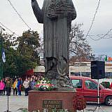 Denkmal des Stadtheiligen von Ohrid