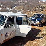 Unterwegs in der winterlichen Mokra-Region