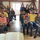 Kinderprogramm in Bishnica
