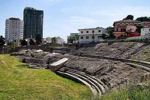 Das antike Amphitheater von Durrës