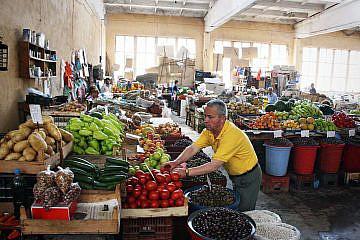Markthalle in Pogradec