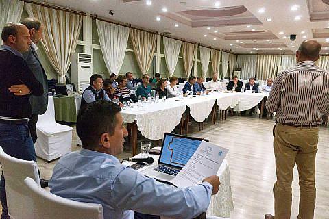 Auf der Diakonia-Konferenz 2018 in Librazhd trafen sich Partner und Unterstützer der DA zum Ideenaustausch