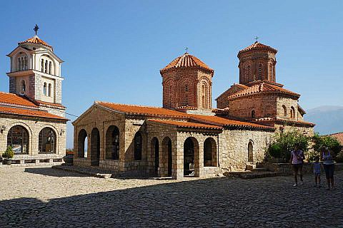 Kloster Sveti Naum, am Ohrid-See