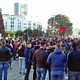 Studentenproteste in Tirana