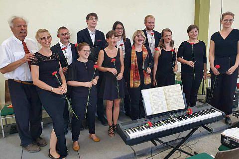 Klassische Chormusik bei den Konzerten in Pogradec und Bishnica