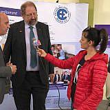 Interview im Regionalfernsehen