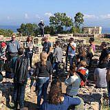 Exkursion zur Ausgrabungsstätte in Lin