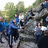 Exkursion zu den Gräbern von Selce