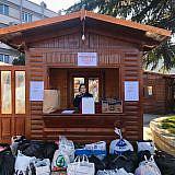 Städtische Sammelstelle für Privatspenden in Pogradec