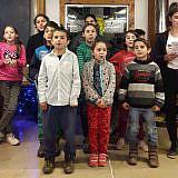 Weihnachtsprogramm der Internatskinder