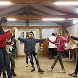Zu einer albanischen Feier gehört Tanzen