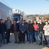 Das Aufbau-Team aus Deutschland und Albanien