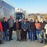 Das deutsch-albanische Einsatzteam …
