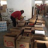 Vorbereiten der Hilfspakete