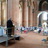 Gottesdienst in der Wismarer St.-Georgen-Kirche