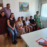 DA-Mitarbeiter aus Pogradec, Tirana und Lezhë
