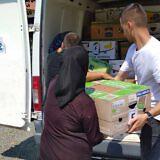 Familienpakete für die Bergdörfer bei Lezhë