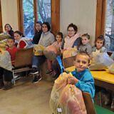 Schulbeginn im Internat Bishnica