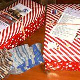 Wie kommen die Weihnachtspäckchen nach Albanien?