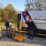 Dieser Transport bringt Spenden aus Ostfriesland