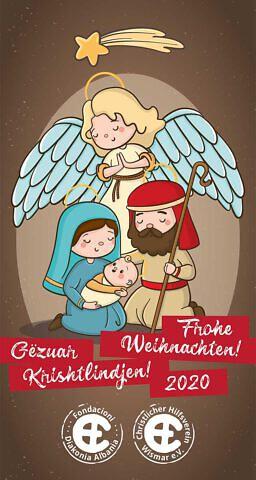 Grußkarte zur CHW Weihnachtsaktion 2020