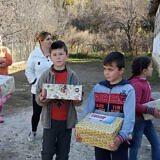 Weihnachtsaktion in Homçan