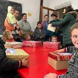 Weihnachtsaktion in Losnik