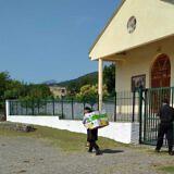 Kirche in der Nähe von Lezhë