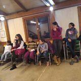 Gruppentreffen im Gemeinschaftshaus